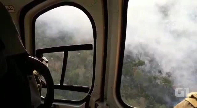 Incêndio atinge áreas do Parque Nacional do Araguaía desde o dia 20 de agosto