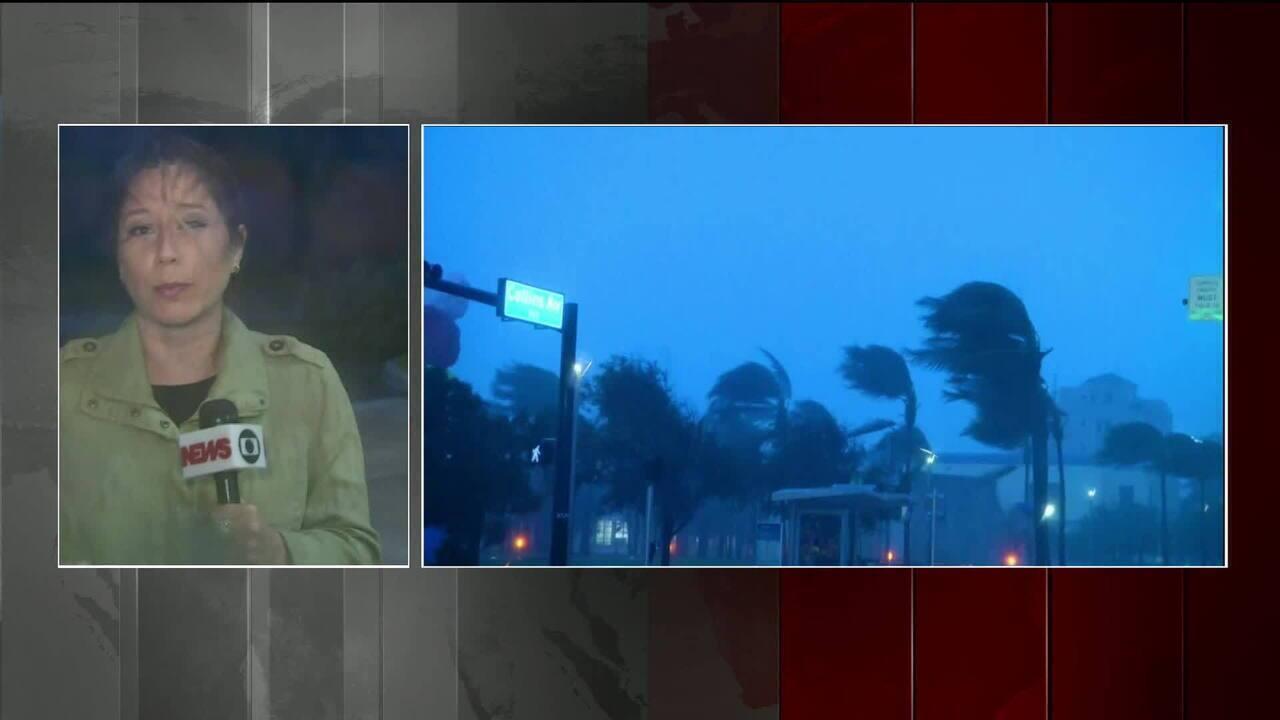 Cerca de 430 mil pessoas estão sem luz na Flórida