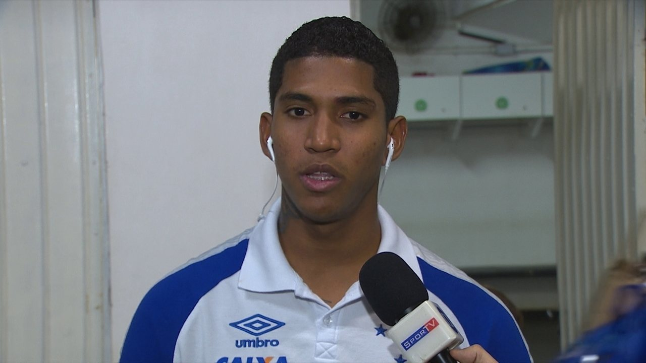 Raniel comemora bom momento no ataque do Cruzeiro