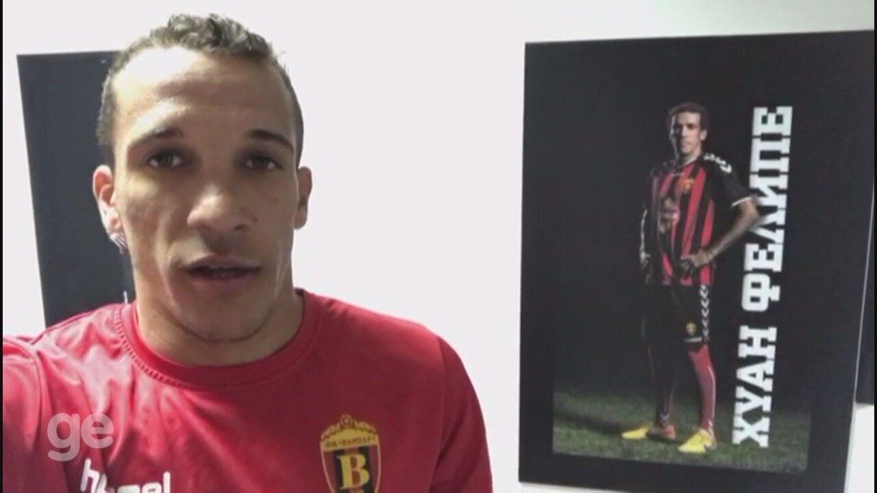 Juan Felipe comemora vaga na Liga Europa e sonha com Seleção
