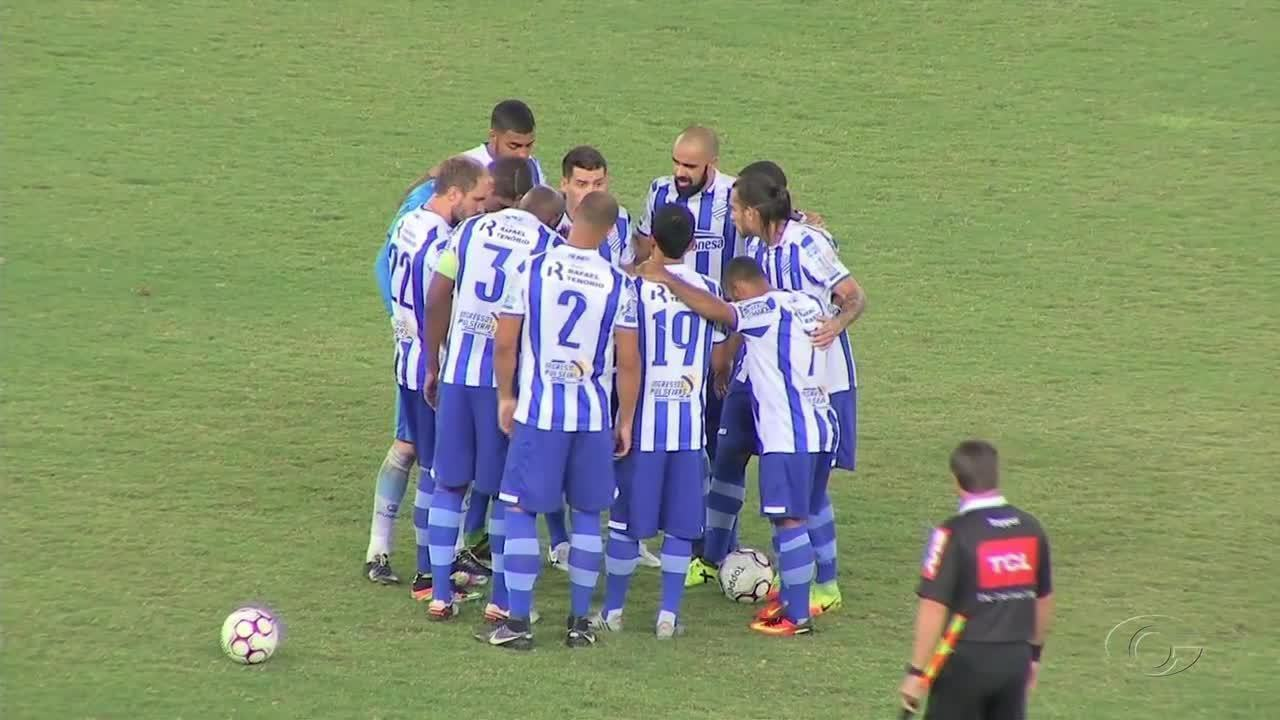 Na Arena Pantanal, CSA empata com o Cuiabá
