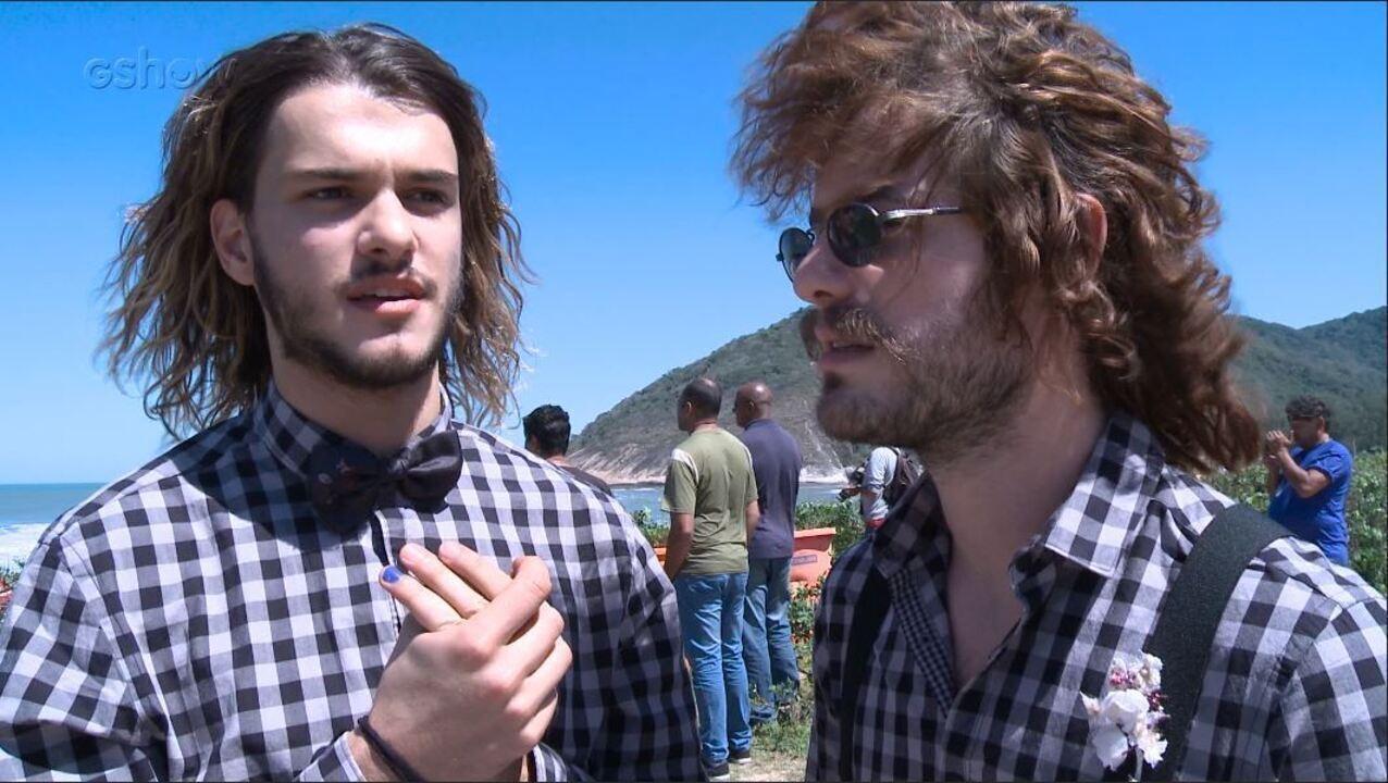 Maurício Destri e Konstantinos Sarris falam sobre a relação entre Rudá e Leon