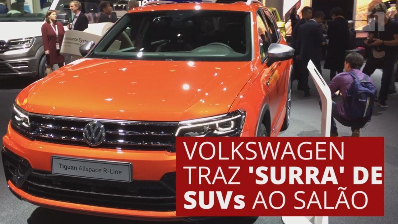 G1 no Salão de Frankfurt: SUV da Volkswagen dá pista de futuro lançamento no Brasil
