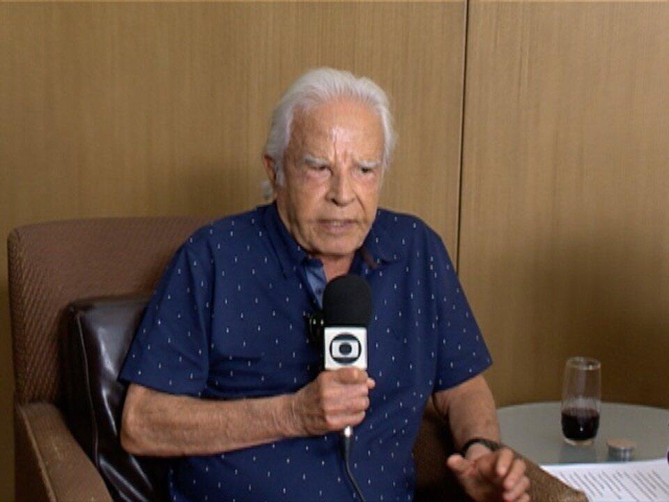 Jornalista Cid Moreira participa de evento em Presidente Prudente