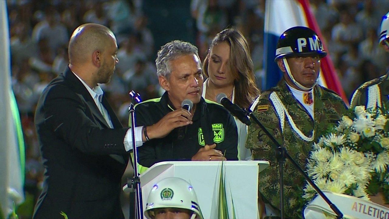 Depoimento de Reinaldo Rueda como técnico do Nacional de Medellin-COL