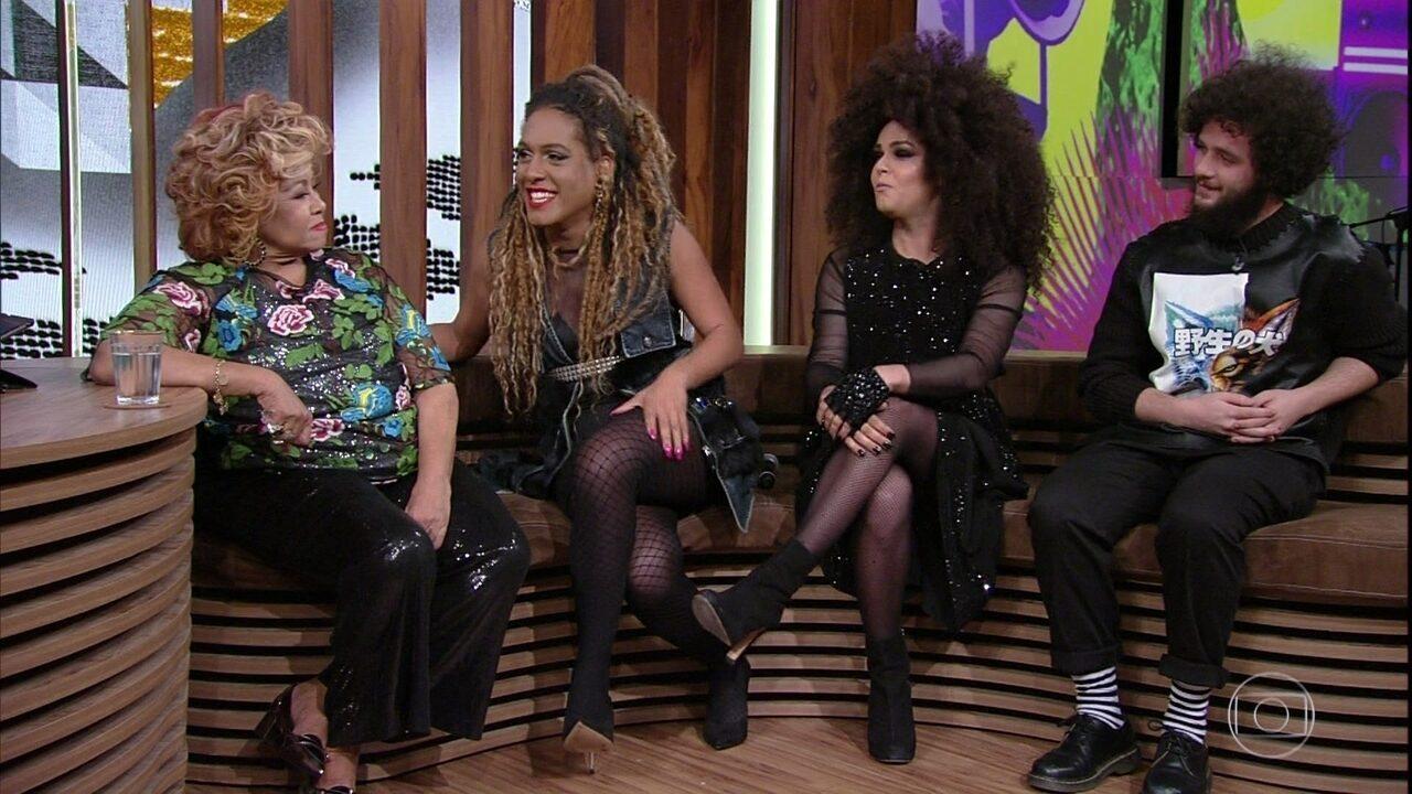 Assucena Assucena, Raquel Virgínia e Rafael Acerbi falam da emoção em conhecer Alcione