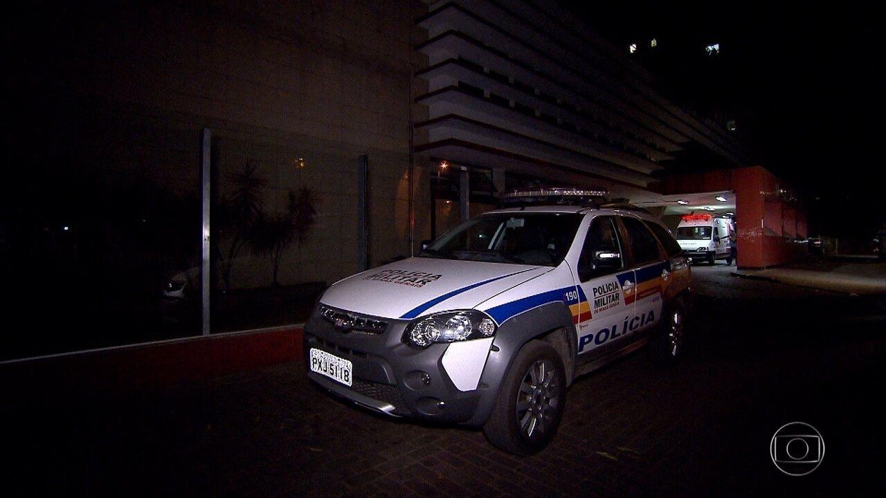 Dois homens são baleados durante tiroteio no Aglomerado da Serra. em BH