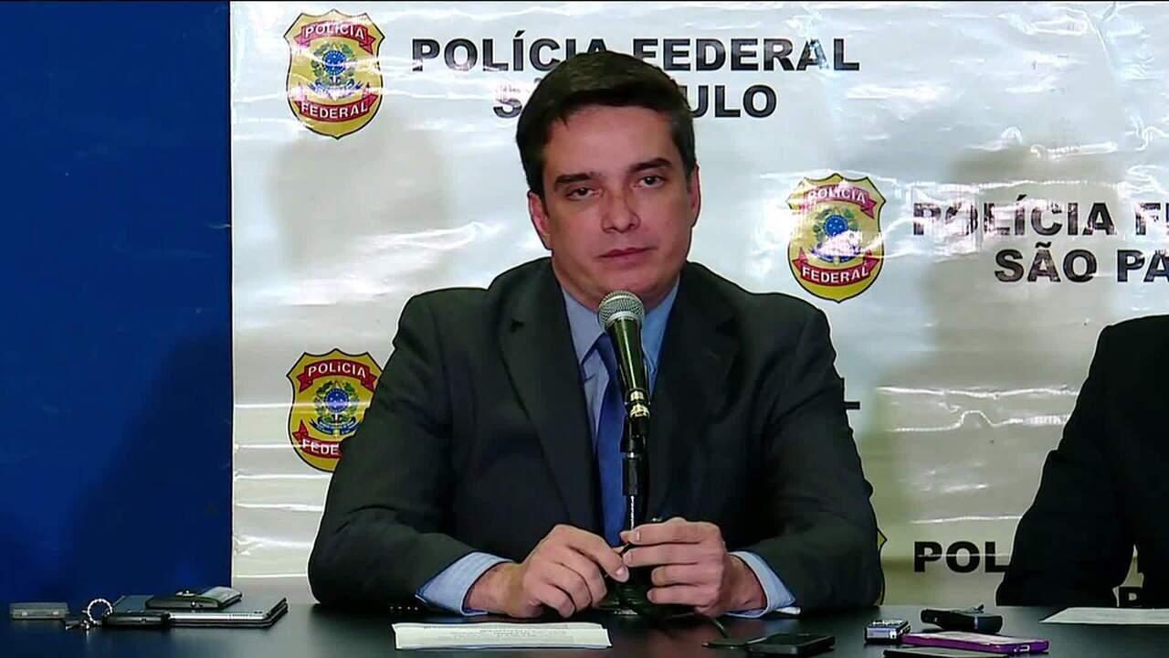 PF detalha operação que prendeu Wesley Batista nesta quarta (13)