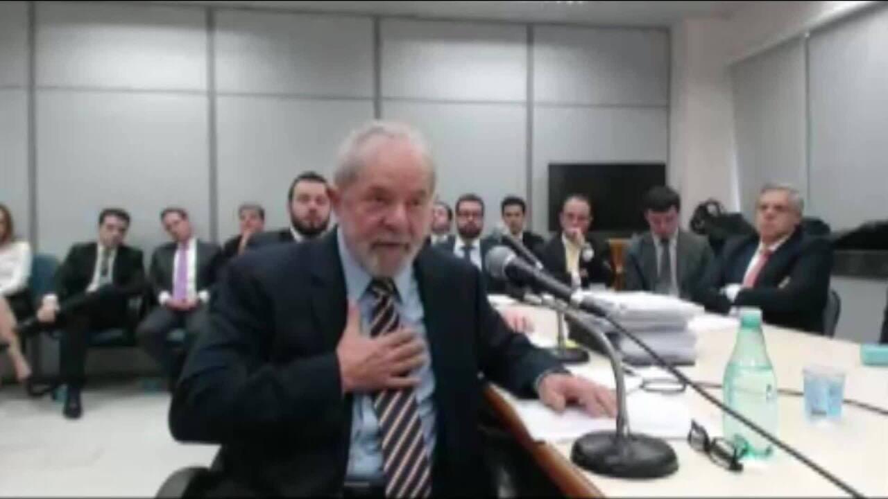 Ex-presidente Lula depõe no processo que investiga recebimento de propina da Odebrecht