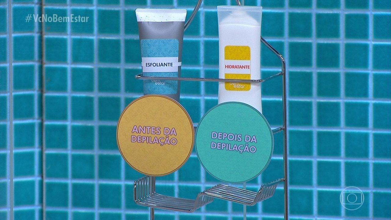 Saiba o que fazer antes e depois da depilação
