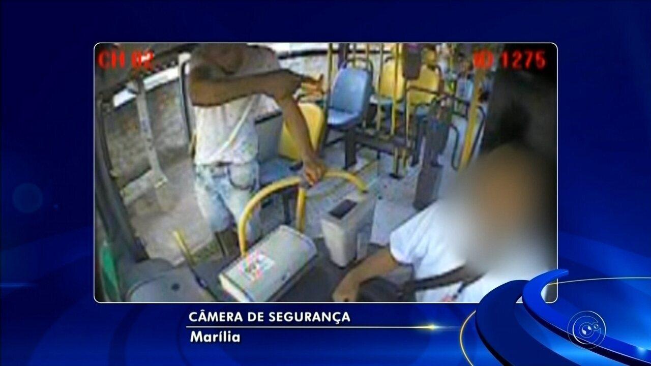 Marília vive onda de assaltos a ônibus