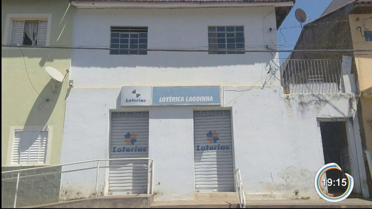 Bandidos invadiram única lotérica de Lagoinha e roubaram cofre