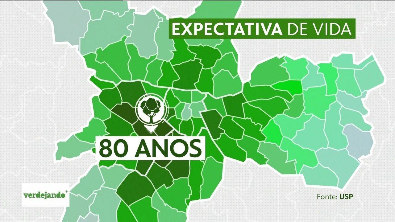 Veja como a falta de árvores afeta a longevidade dos paulistanos