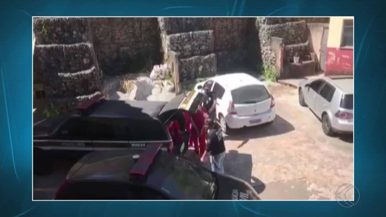 Polícia Civil apresenta trio suspeito de envolvimento em assassinatos em Juiz de Fora