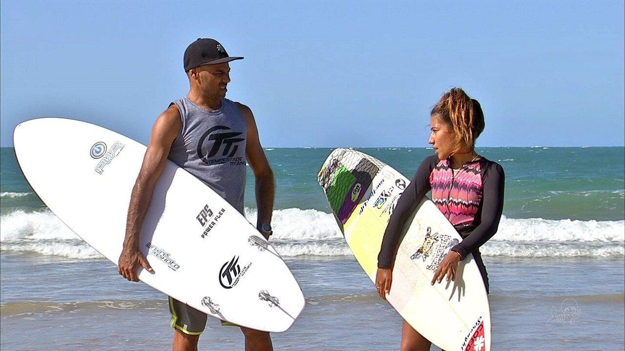 Letícia Cavalcante se destaca no Titanzinho e vai para Mundial de Surfe no Japão