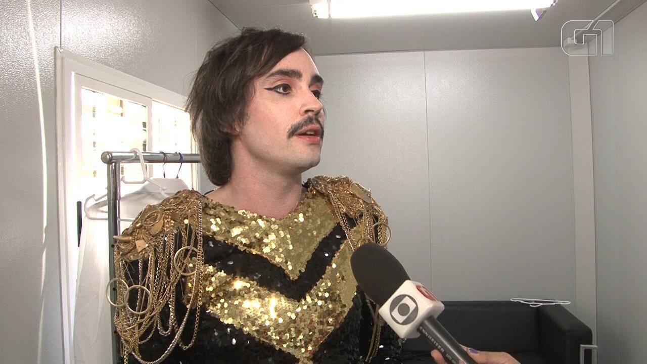 Johnny Hooker diz que essa é a edição 'mais gay' do Rock in Rio