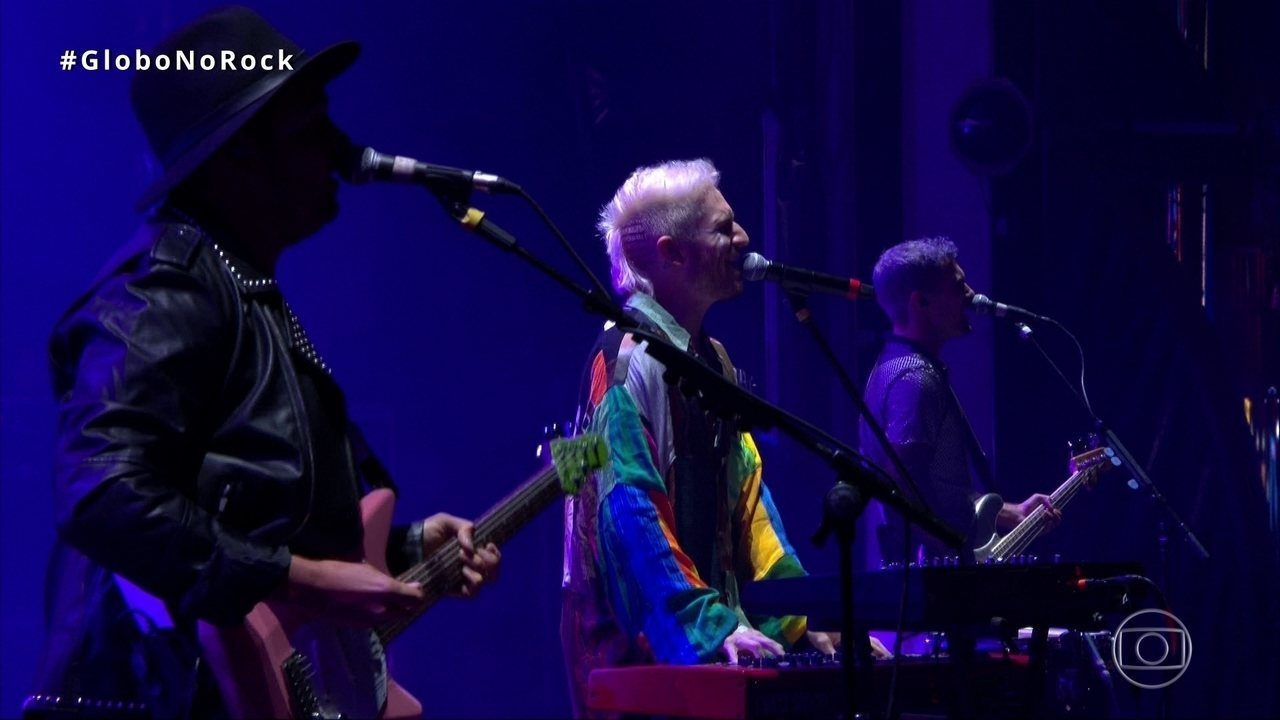 Walk the Moon abre show no Palco Mundo do Rock in Rio com 'Up 2 U'
