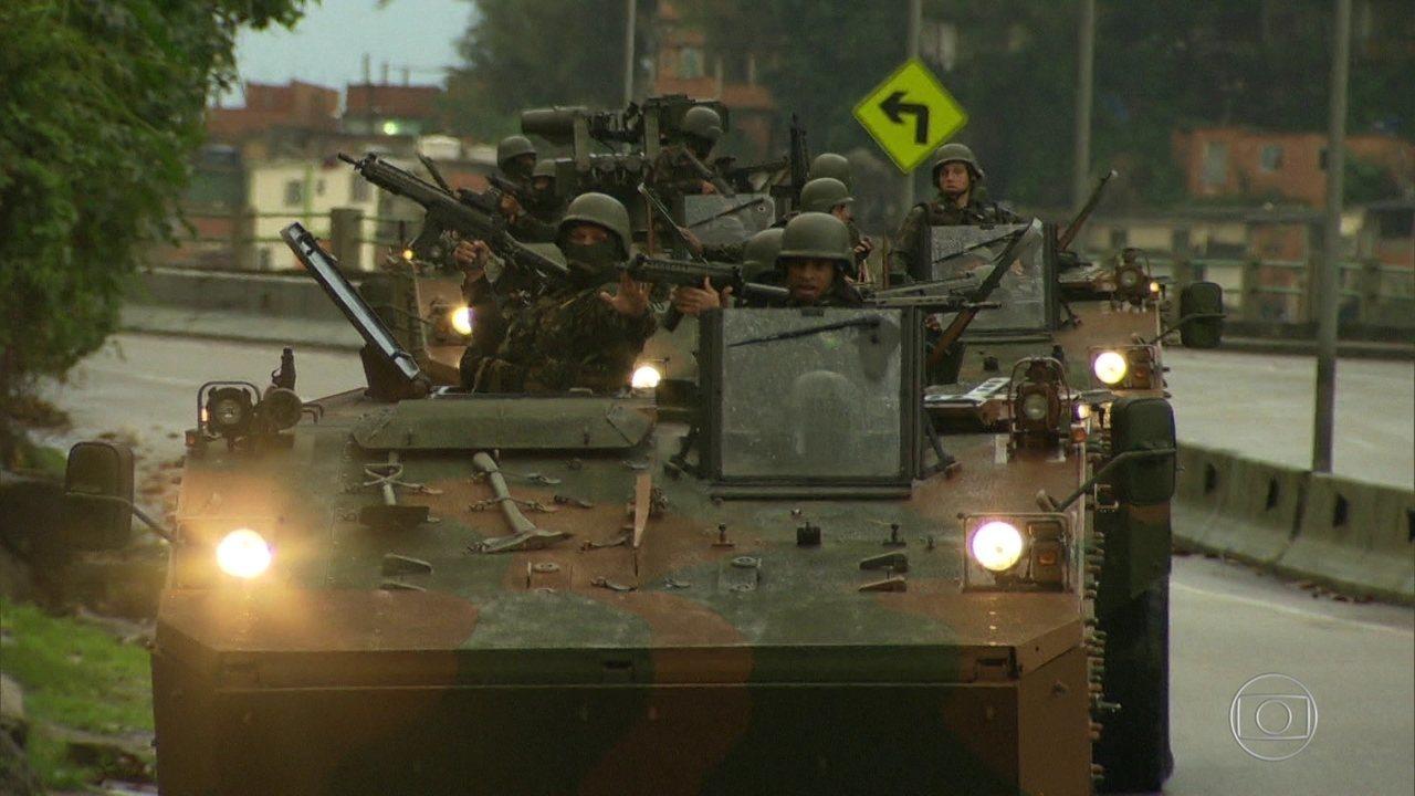 Forças Armadas reafirmam apoio às operações no Rio