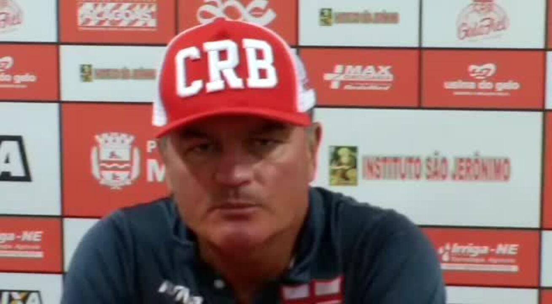 Confira a coletiva de Mazola Júnior no retorno ao CRB