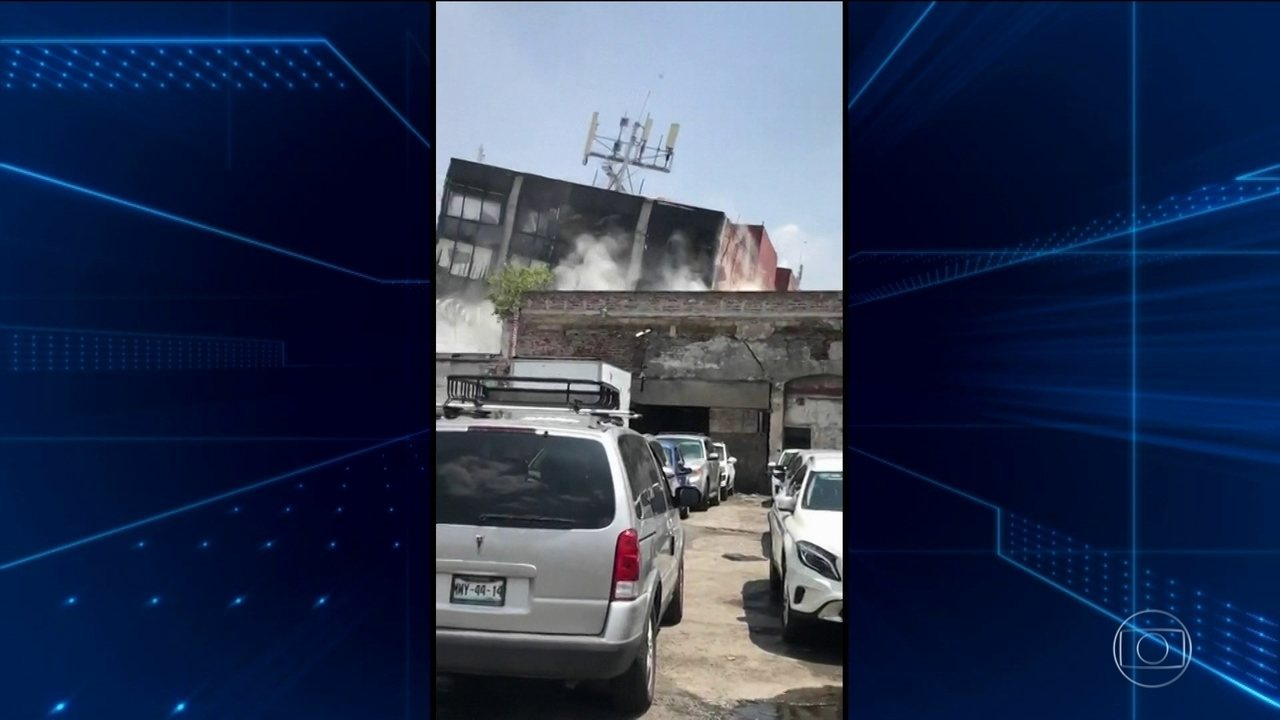 Terremoto de 7,1 de magnitude no México deixa mortos de destruição