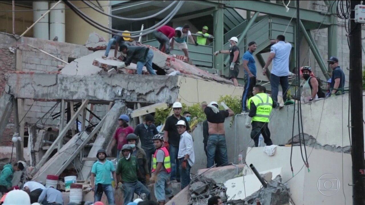 Terremoto deixa mais de 200 mortos no México