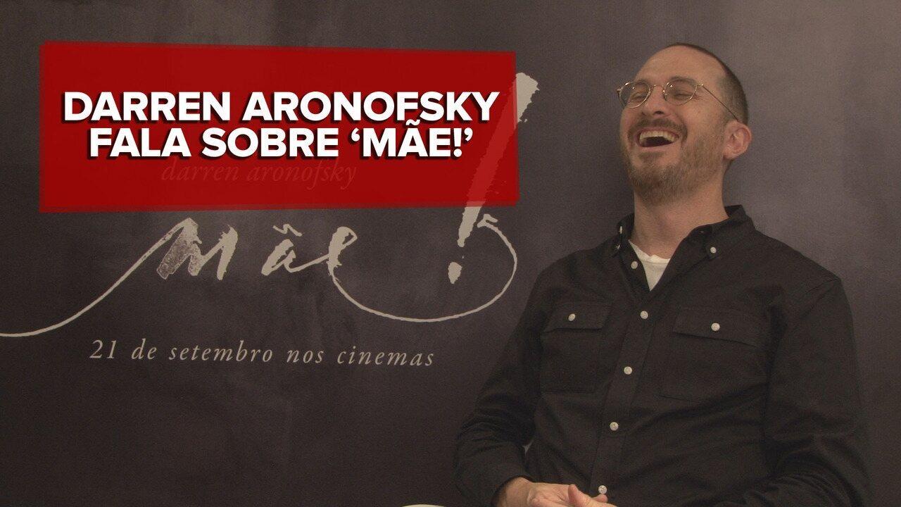 'Só venha se quiser um passeio de montanha-russa', diz Darren Aronoksky sobre 'Mãe!'