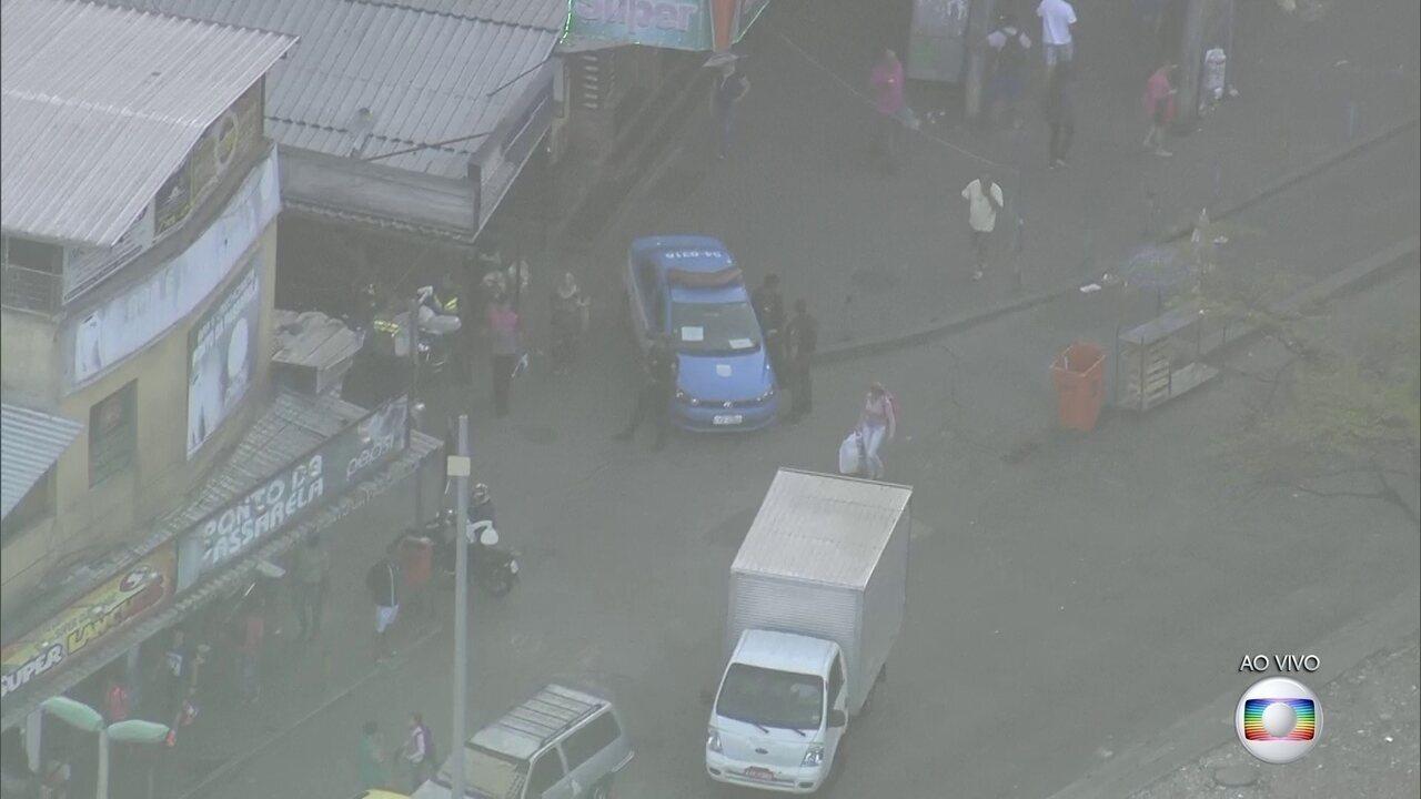 Bope realiza operação na Rocinha