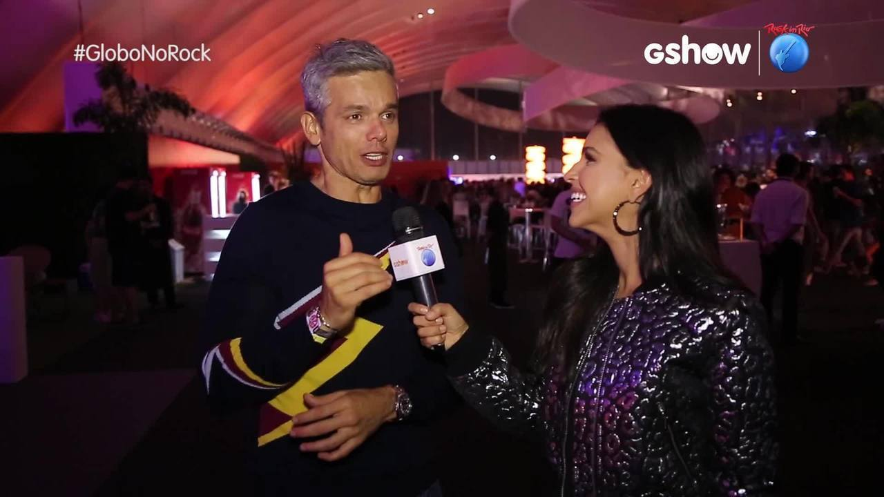 Otaviano Costa comenta expectativa para o show do 'Aerosmith'