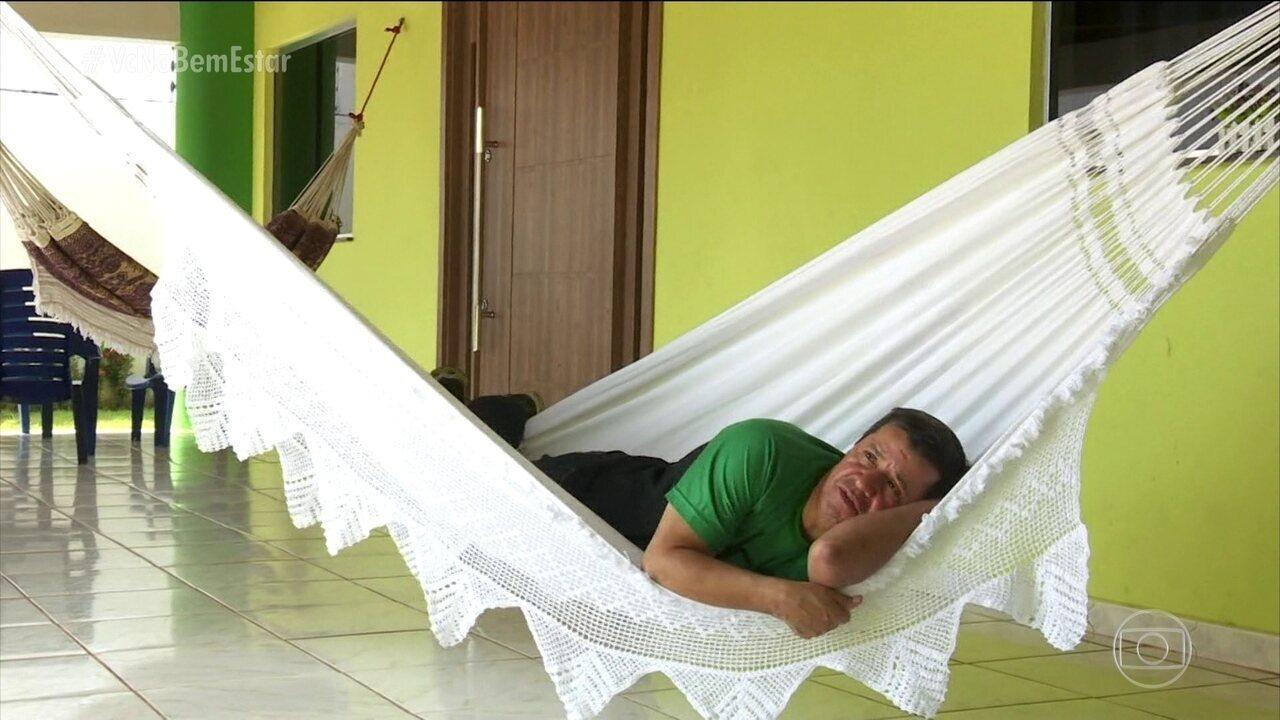 Dormir em redes faz bem à saúde, diz pesquisa
