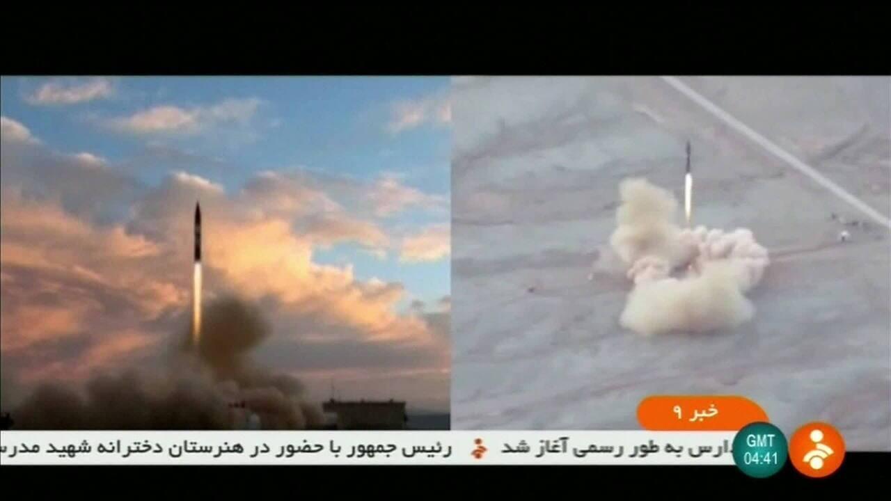 Irã testa com sucesso novo míssil balístico com alcance de dois mil quilômetros