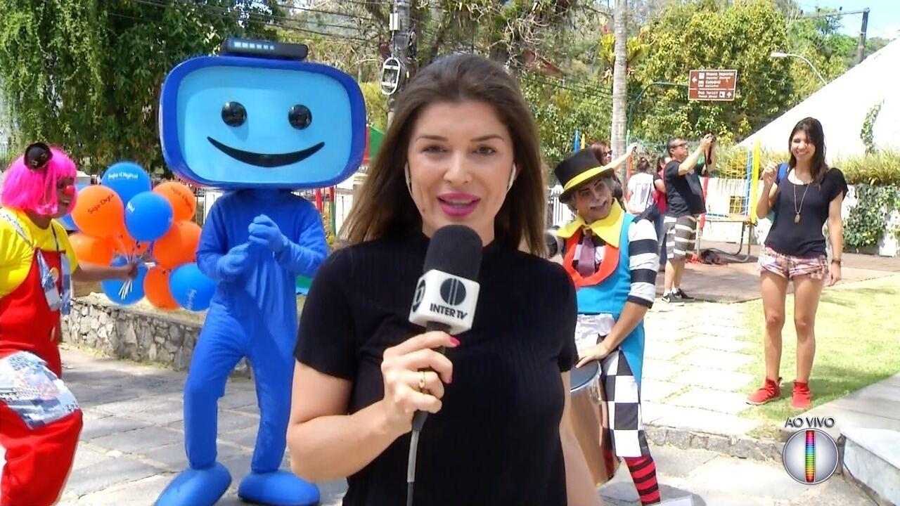 Seja Digital: Ações sobre o desligamento do sinal analógico acontecem em Petrópolis, no RJ