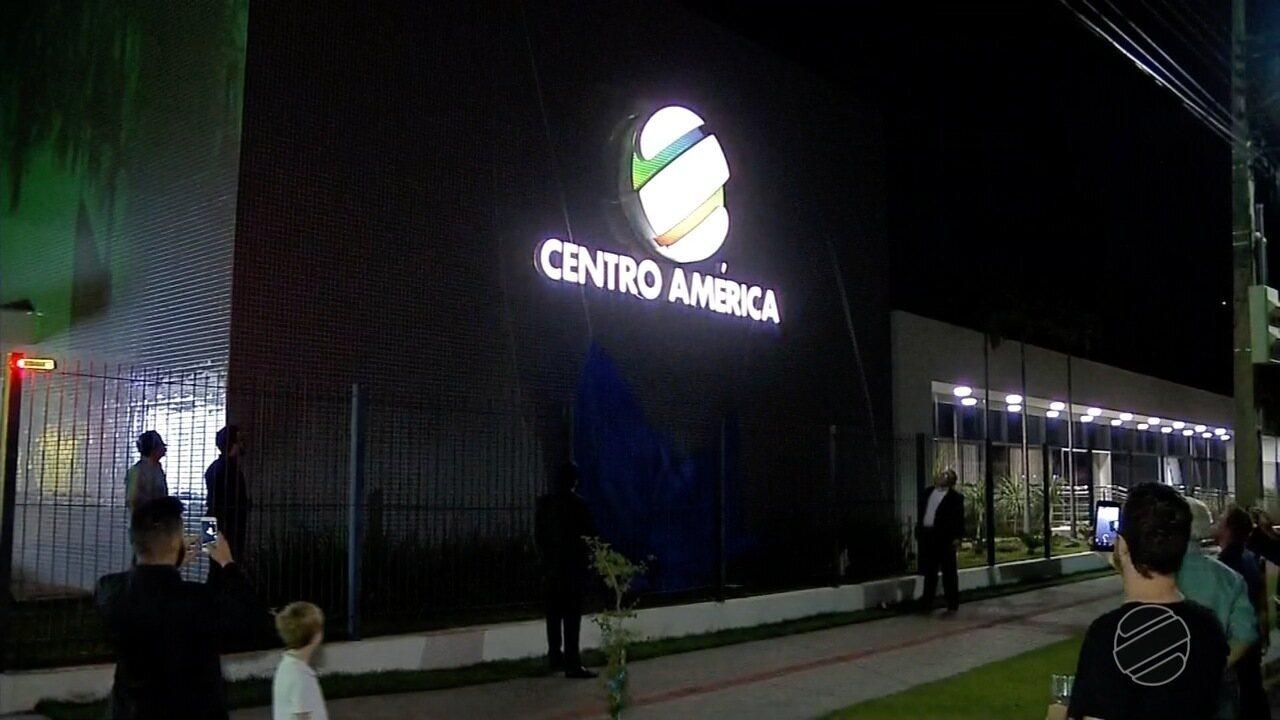 Festa de lançamento da nova marca da TV Centro América em Sinop