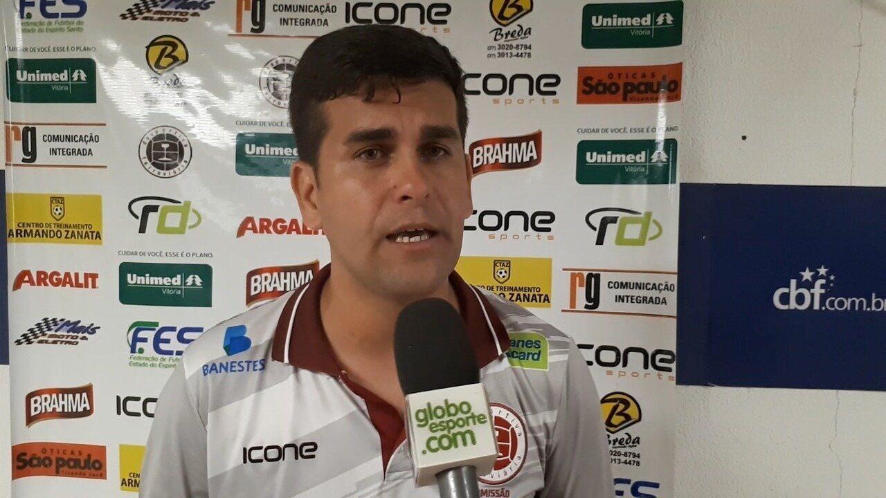 Desportiva Ferroviária reclama da arbitragem após a derrota para o Espírito Santo