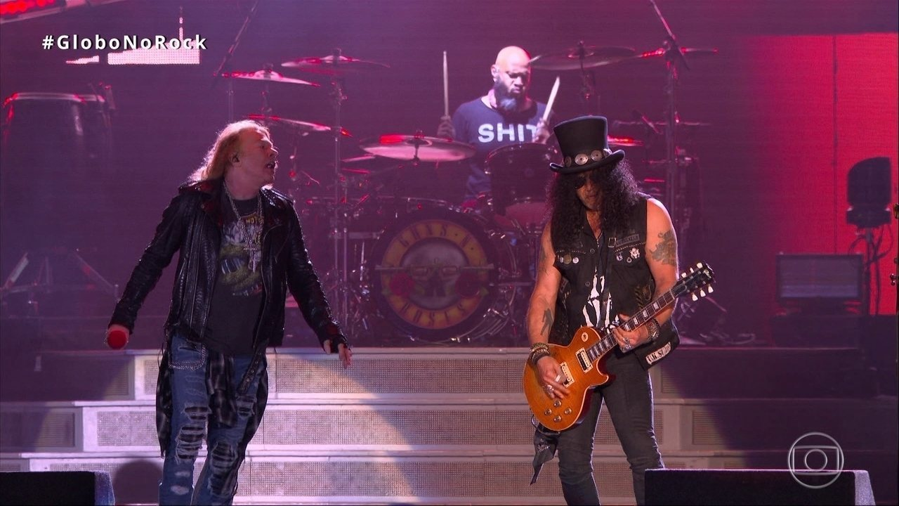 Guns N' Roses abre show do Rock in Rio com 'It's So Easy'