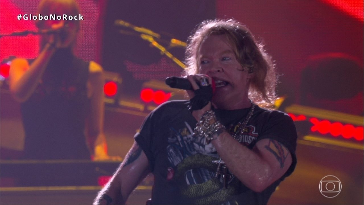 Guns N' Roses canta 'Chinese Democracy' no Rock in Rio