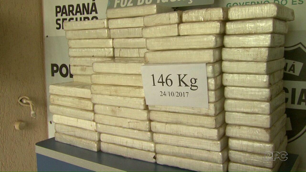 Denarc apreende quase 150 quilos de cocaína em fundo falso de veículo
