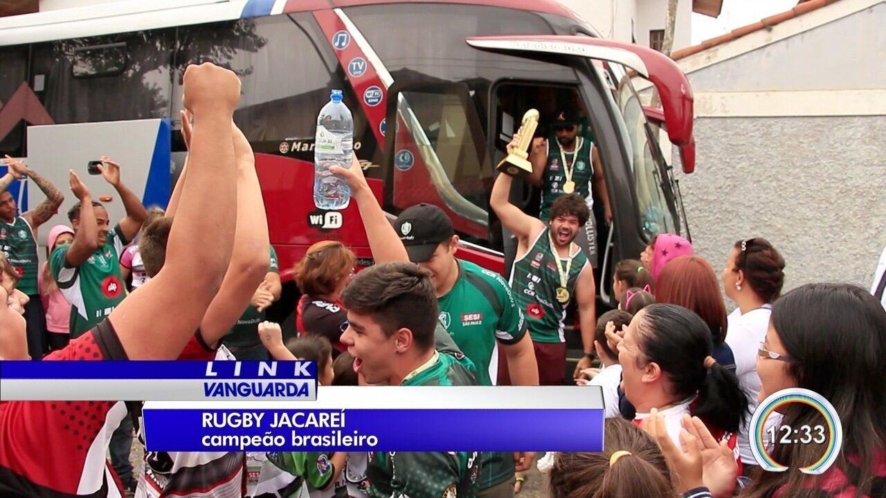 Equipe do rugby venceu campeonato brasileiro neste fim de semana