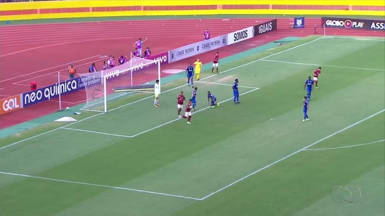 Luiz Fernando marca na derrota do Atlético-GO contra o Cruzeiro; confira