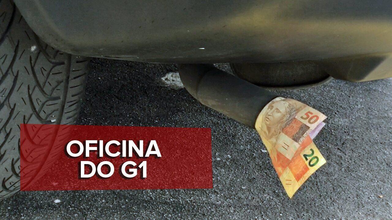 Veja se você joga dinheiro fora pelo escapamento do carro
