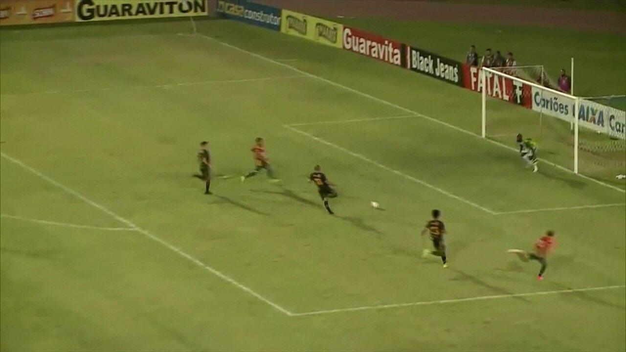 Redação AM: Confira a narração do gol do acesso do Sampaio Correa contra o Volta Redonda