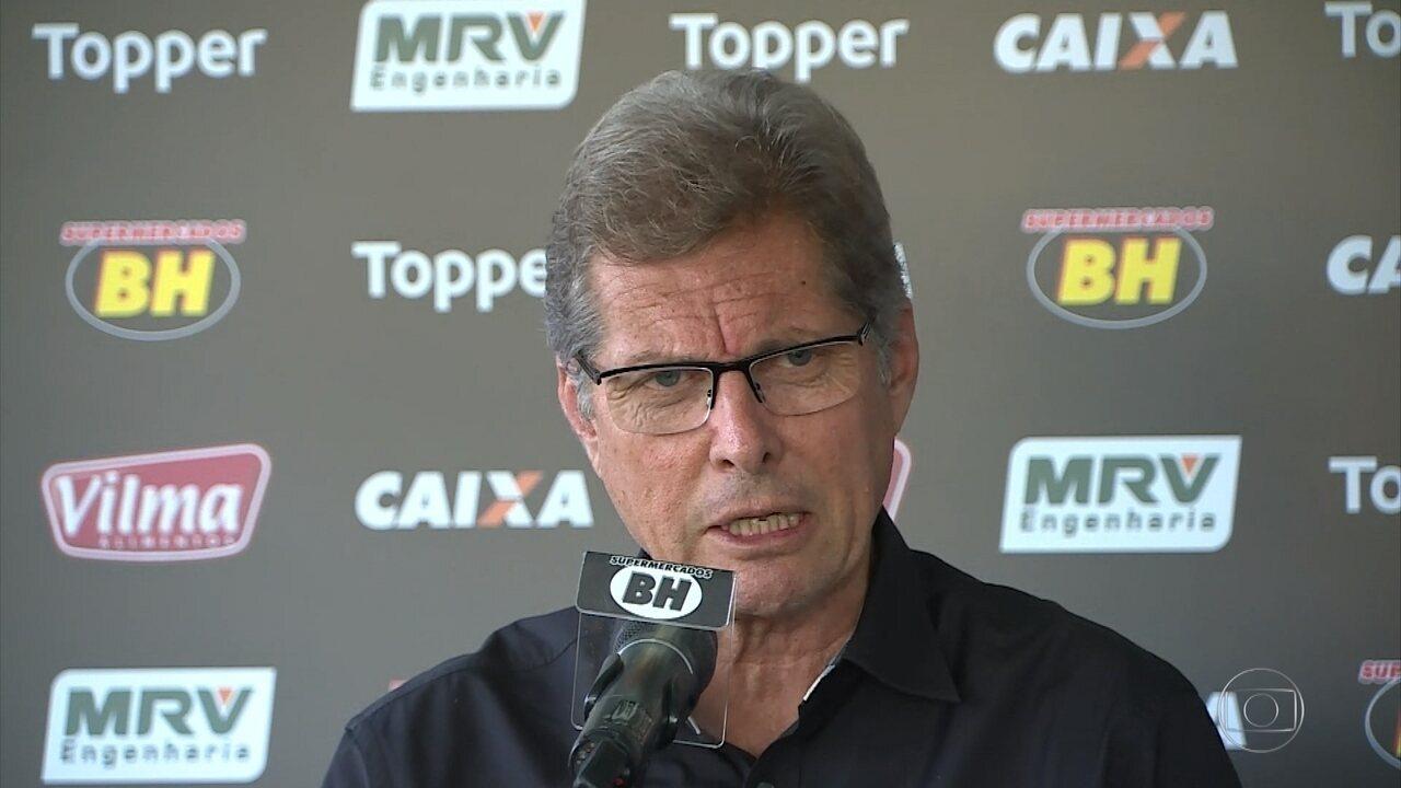 Atlético-MG apresenta Oswaldo de Oliveira como novo técnico