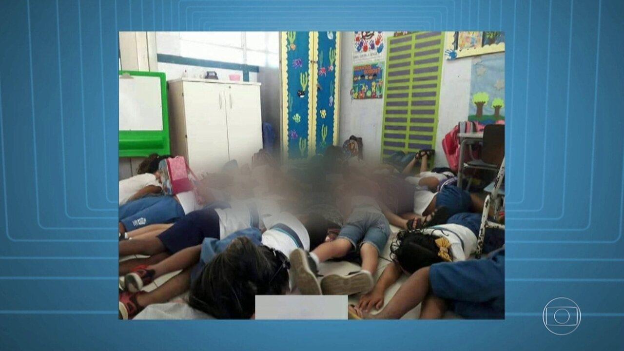 Tiroteio na Maré fecha Clínica da Família e assusta crianças dentro de uma escola