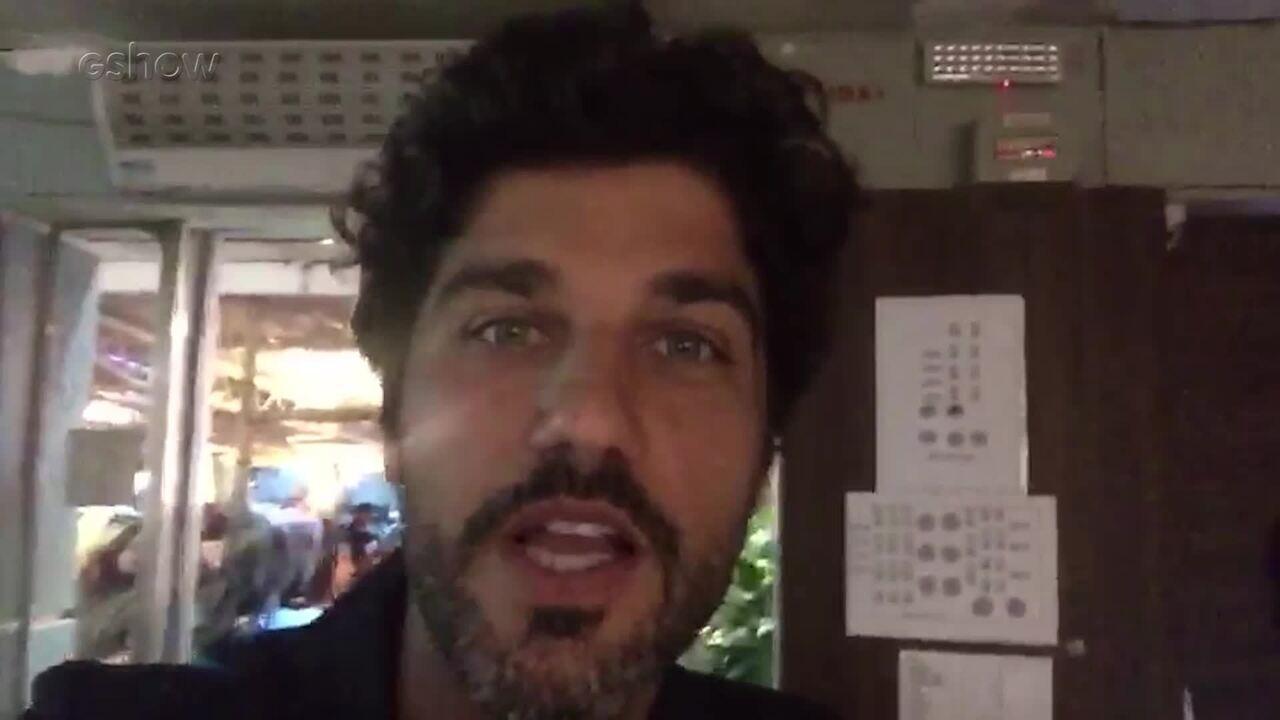 Bruno Cabrerizo conta com foi o primeiro capitulo de Tempo de Amar