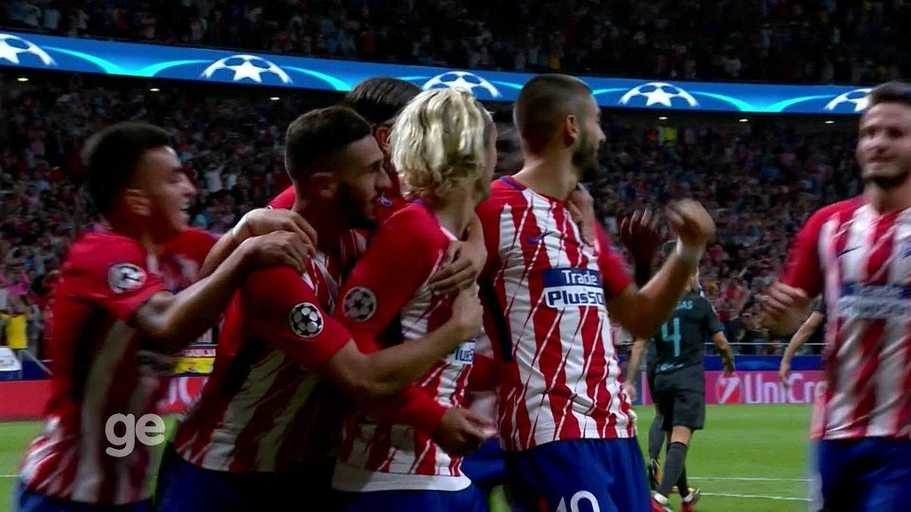 Confira os gols da rodada da Liga dos Campeões
