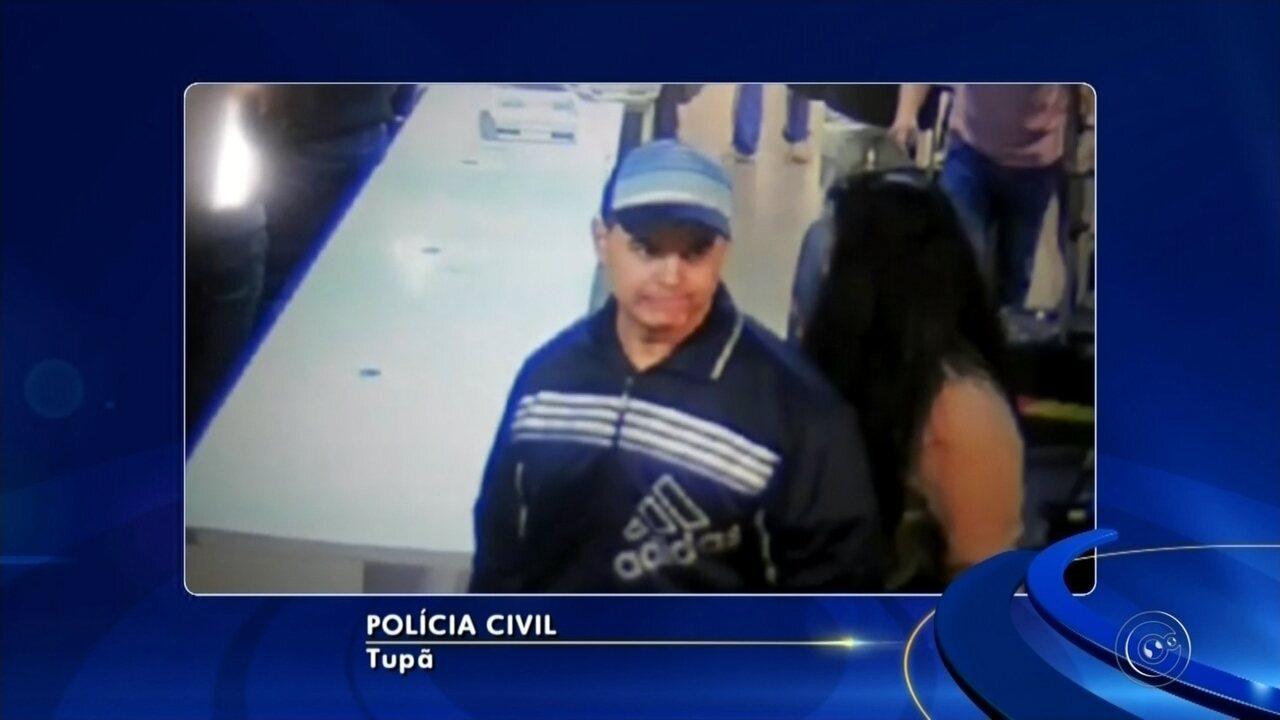 Polícia seguiu pistas para encontrar acusado de assassinar bancária em Tupã