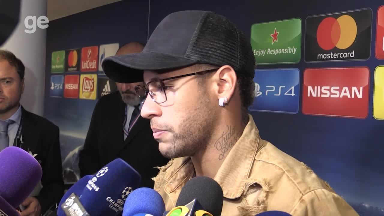 Na zona mista, Neymar fala sobre cobranças de pênalti:
