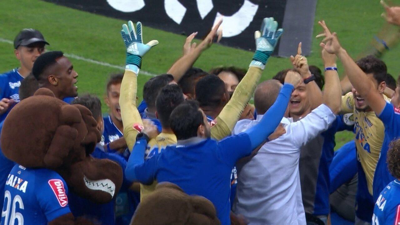 Os pênaltis de Cruzeiro 0 (5) x (3) 0 Flamengo pela final da Copa do Brasil