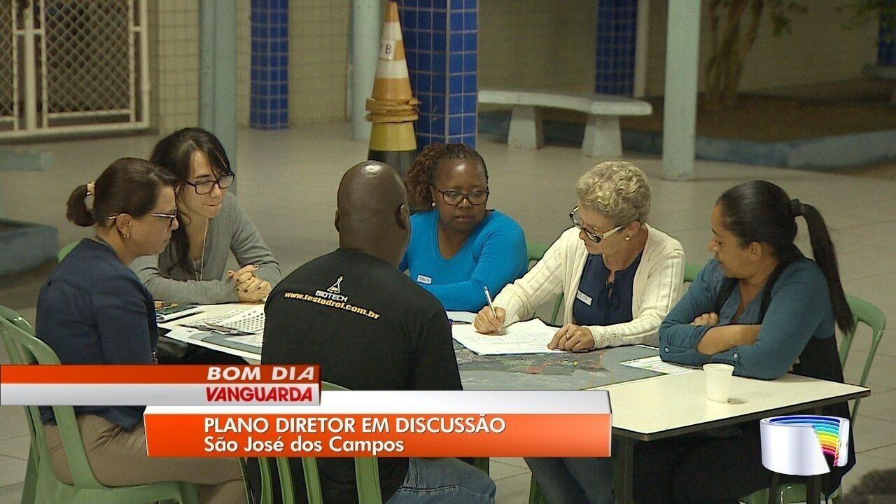 São José tem reunião do plano diretor na zona leste