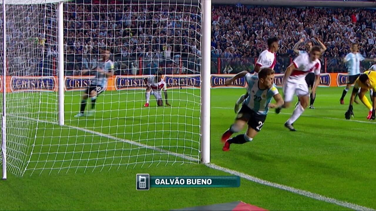 Galvão diz torcer para que Argentina esteja na Copa