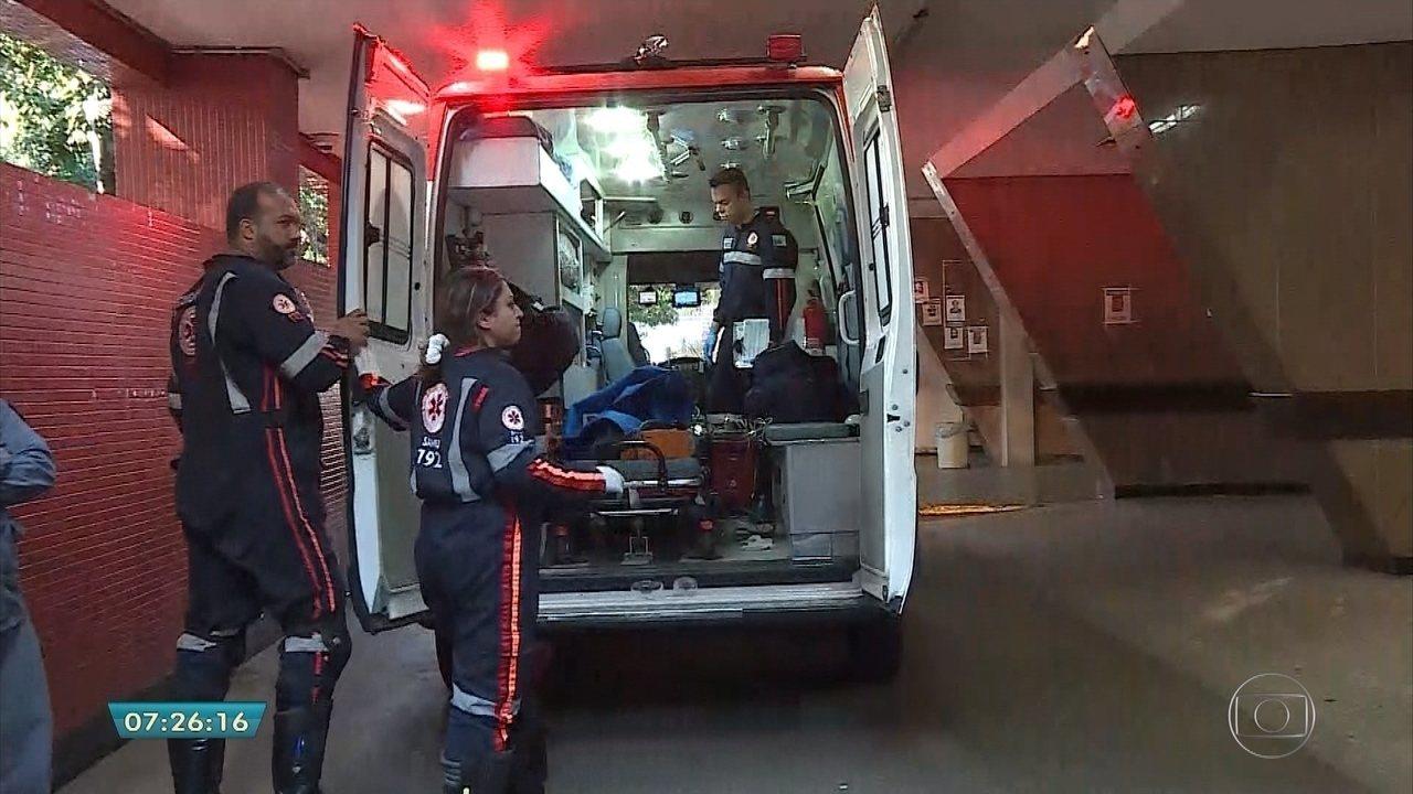 Crianças vítimas de tragédia estão internadas no Hospital João XXIII, em BH